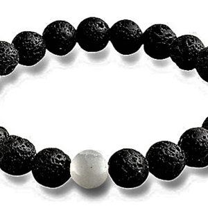 Jewelry - Lava Stone Oil Diffuser Stretch Bracelet